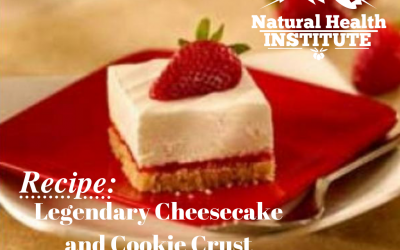 Legendary Cheesecake and Cookie Crust